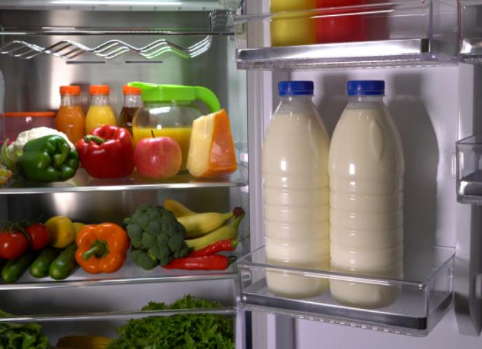 Не самое лучшее место для молочной продукции. | Фото: Академия успешных поваров.