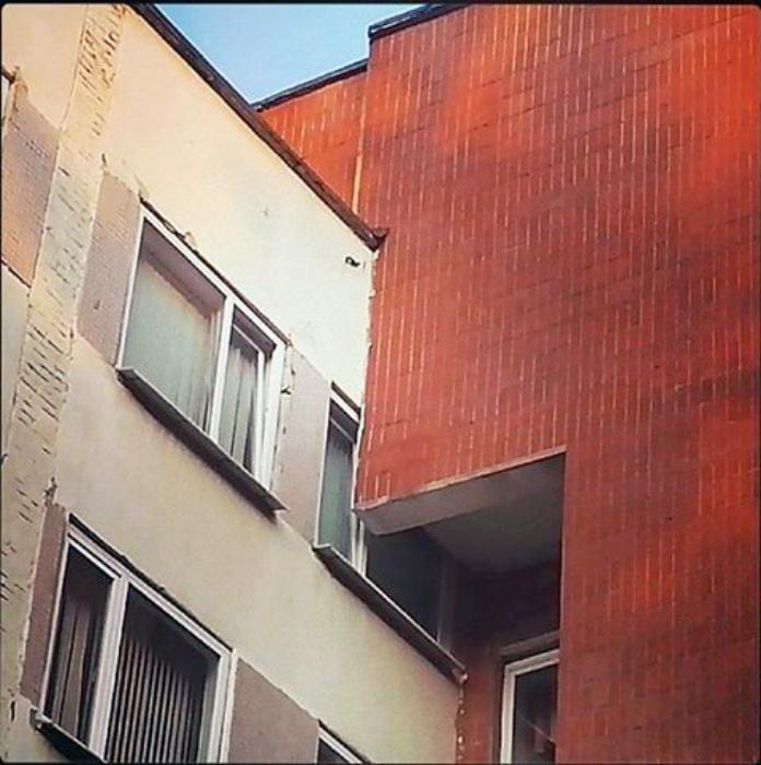 Лестница пандус