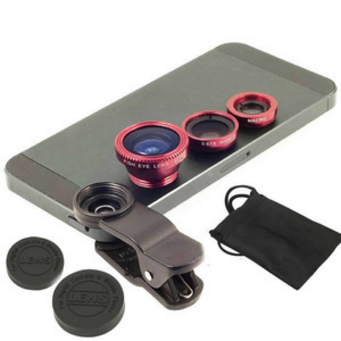 Потрясающий набор объективов, которые превратят смартфон в профессиональный фотоаппарат.