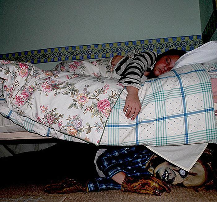 Кто живет у тебя под кроватью. | Фото: Интересно знать.