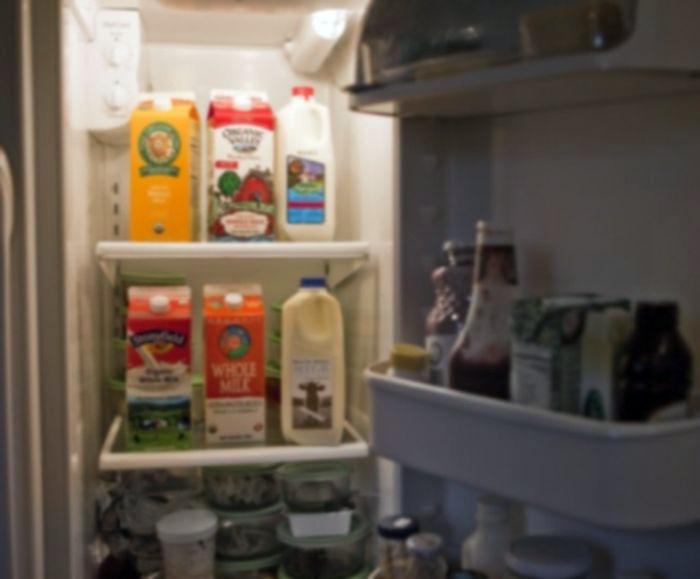 Хранение молочных продуктов.