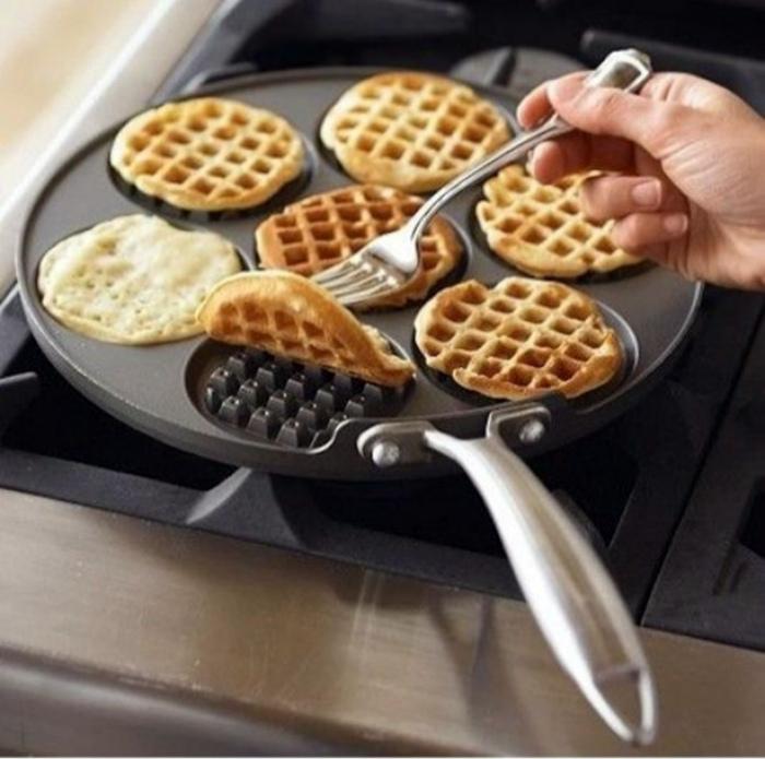 Сковородка для вафель.