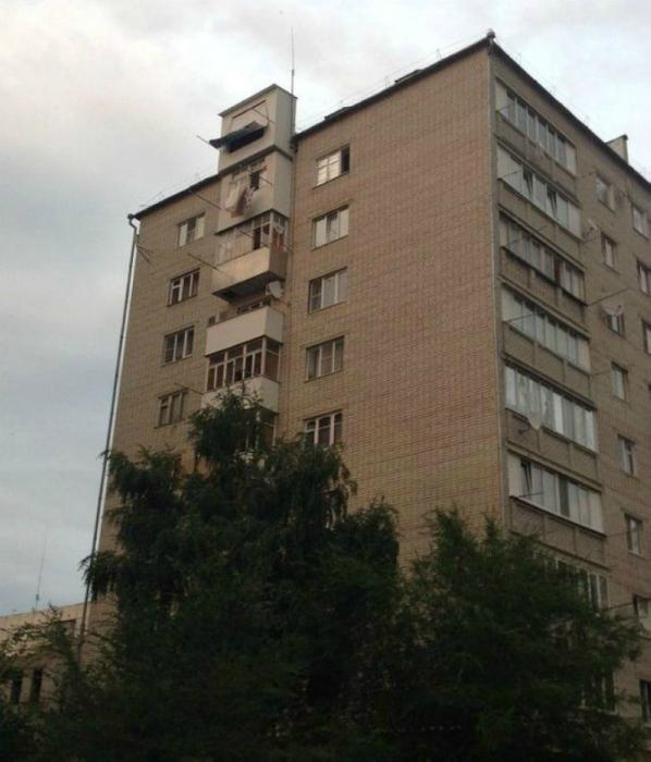 Дополнительный балкон.