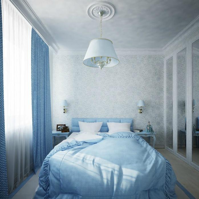 Предпочтение светлым оттенкам. | Фото: dekorin.me.