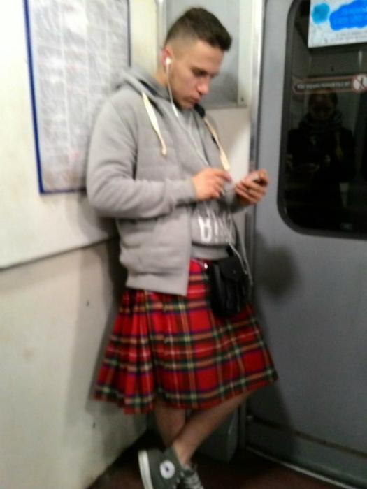 Шотландская мода.