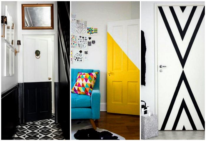 Яркий дизайн дверей.