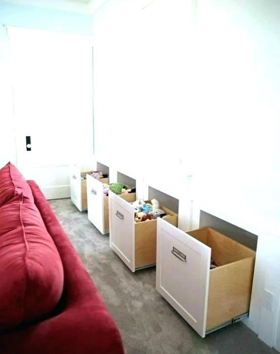 Вместительные ящики в нишах. | Фото: Ecodea.co.