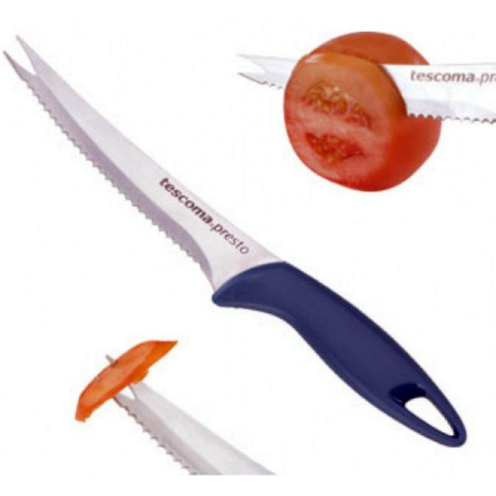 Нож с зазубринами.