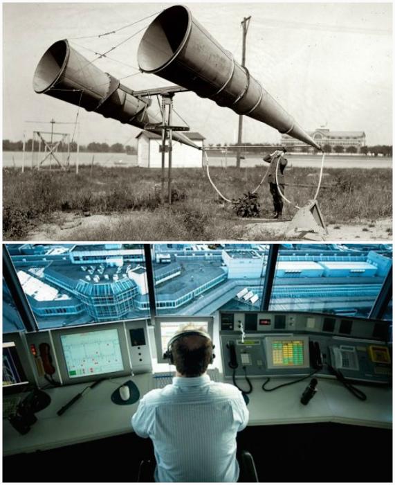 Звуковой локатор воздушного пространства.