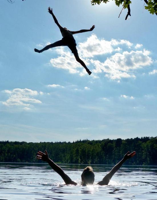 Смотрите, он летит! | Фото: Dalademokraten.