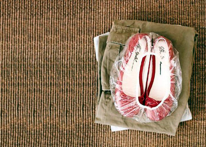Упаковка для обуви.