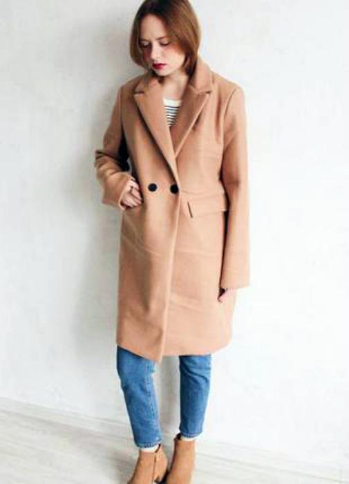 Пальто свободного кроя. | Фото: pinterest.co.kr.