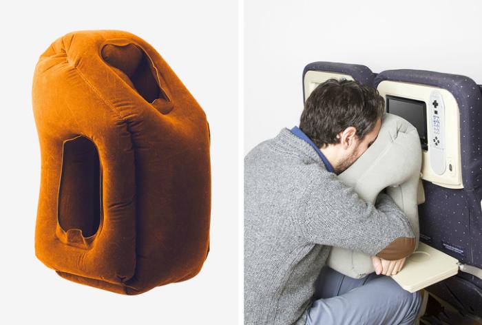Оригинальная надувная подушка.