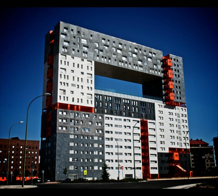 Жилой дом в Мадриде.