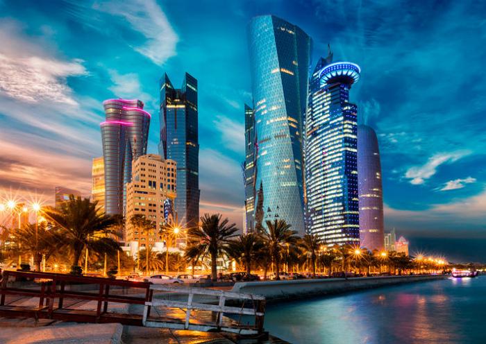 Огромное количество мигрантов в Катаре.