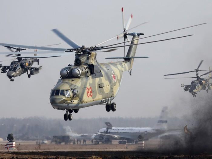 Вертолеты России.