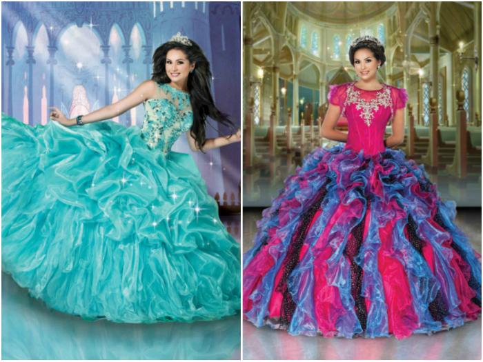 Современные платья принцесс