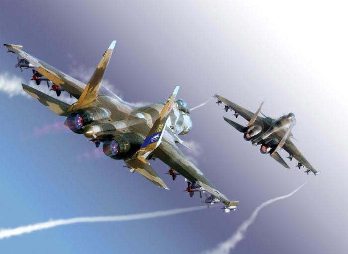 Выступление воздушных асов России.