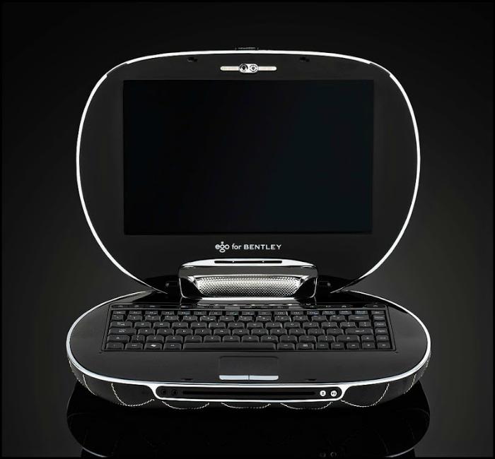 Роскошный ноутбук под названием - Ego for Bentley.