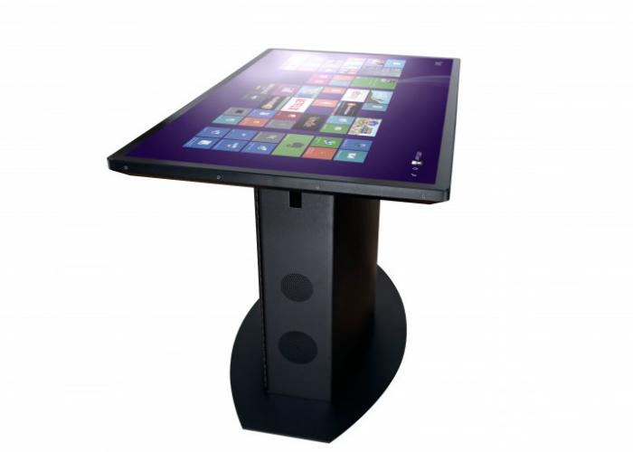 Функциональный компьютерный стол-мультитач от компании Ideum.