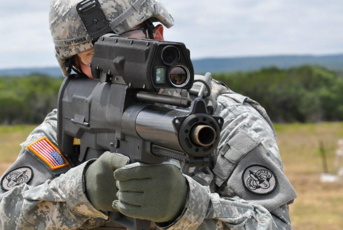 Самые функциональные образцы  оружия.