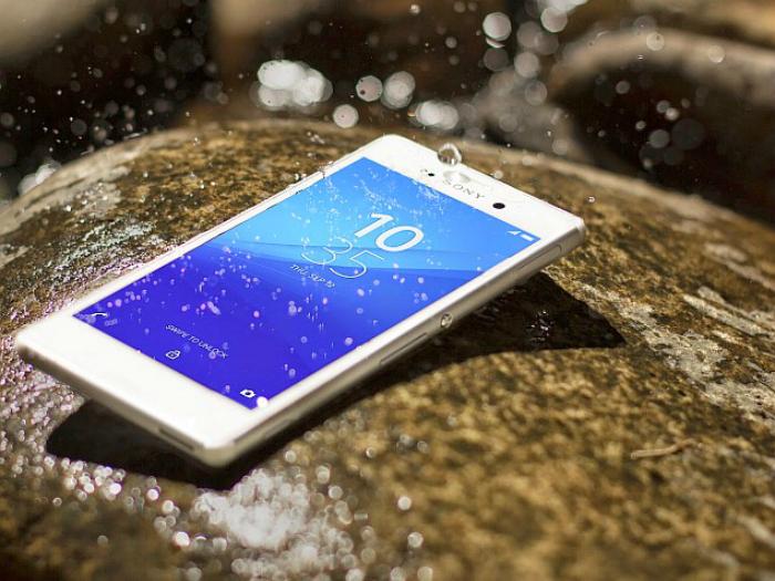 Новый водонепроницаемый смартфон под названием - Sony Xperia M4 Aqua.