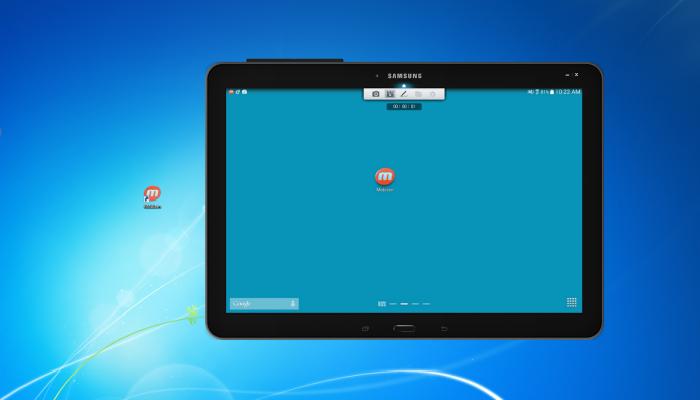 Многофункциональное мобильное приложение под названием - Mobizen.