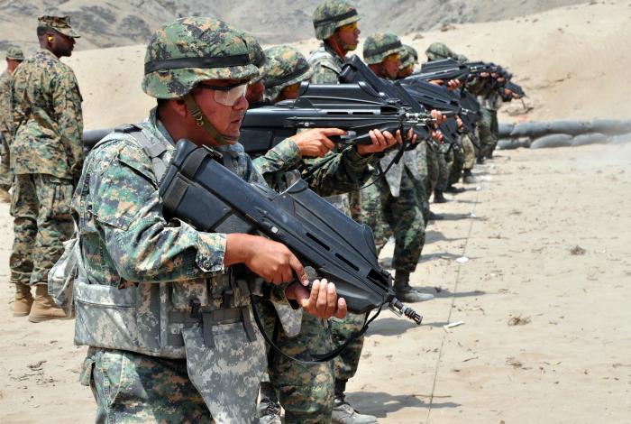 Бельгийский автомат под названием - F2000 Assault Rifle.