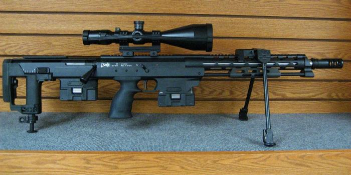 Крупнокалиберная немецкая снайперская винтовка под названием - DSR-Precision DSR 50.