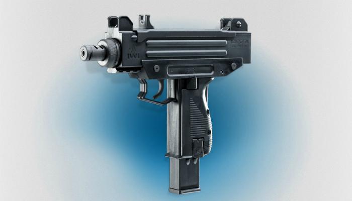 Израильский пистолет-пулемет под названием - UZI.