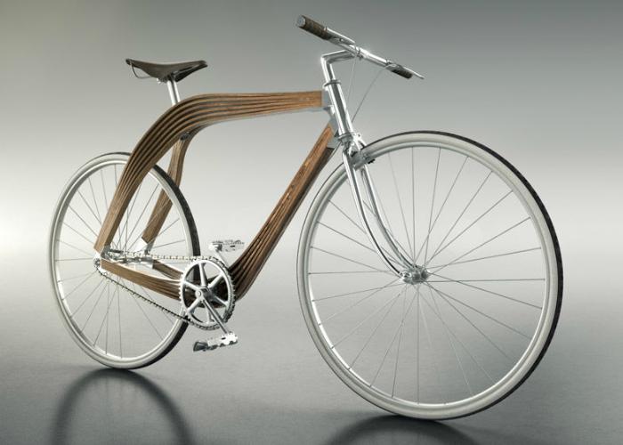 Современный велосипед – Aero созданный украинкой Марией Королевой.