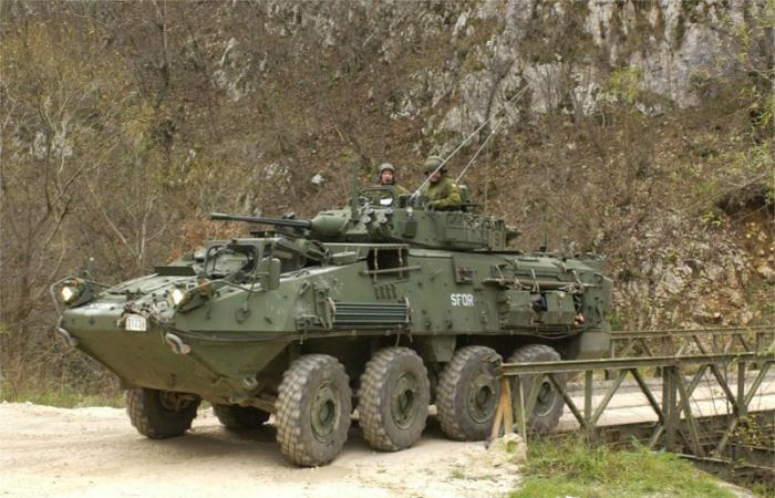 Функциональный канадский бронетранспортер под названием - Kodiak.