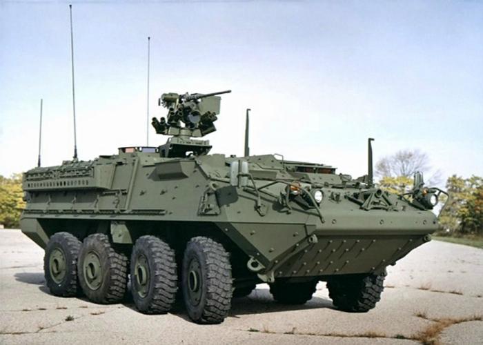 Надежный американский бронетранспортер под названием - Stryker.
