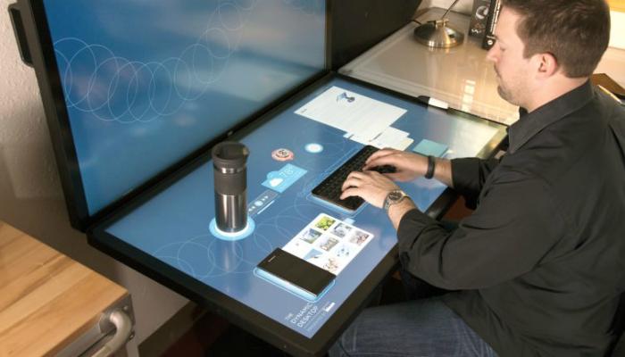 Компьютер будущего от компании Ideum.