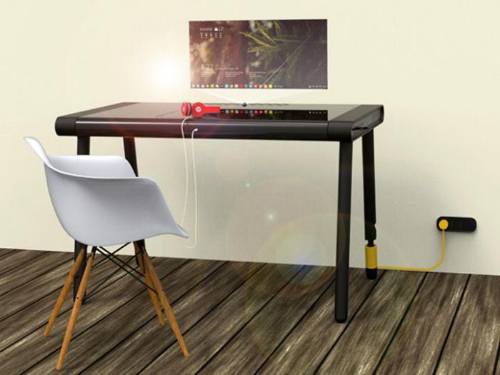 Функциональный стол-гибрид - C-Walker от разработчика Нитина Энтони.