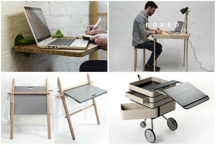 Портативные удобные столы.