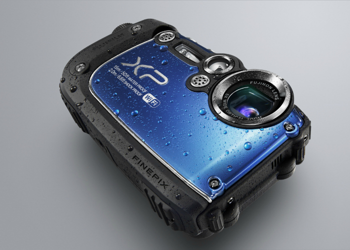 Функциональная камера для подводной съемки - Fujifilm FinePix XP200.