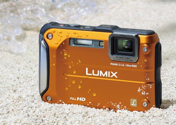 Функциональная камера - Panasonic Lumix FT5, созданная специально для подводной съемки.