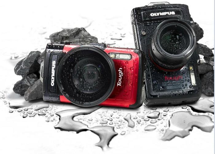 Функциональная камера для подводной съемки - Olympus Tough TG-3.