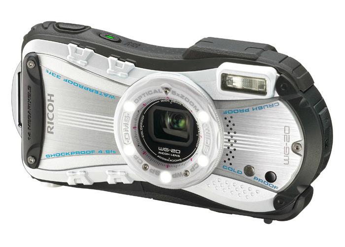 Портативная камера - Ricoh WG-20 изготовленная специально для подводной съемки.