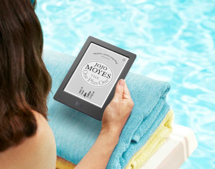Компания Kobo представляет новую модель электронной книги - водонепроницаемый ридер Kobo Aura H2O. Новинка оснащена экраном E ink сверхвысокого разрешения и имеет корпус, которой не боится воды и песка.