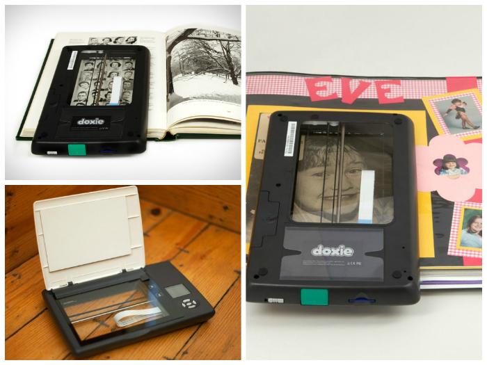 Необычный мобильный сканер под названием - Doxie Flip.