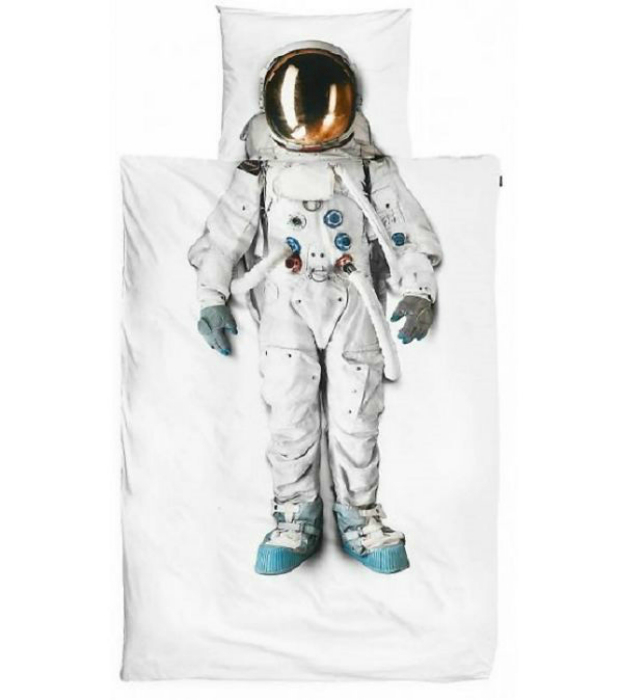 Постельное бельё космонавт.