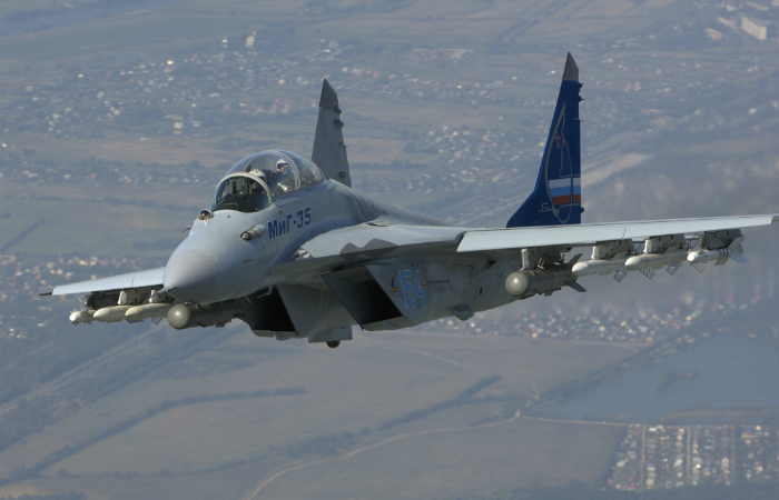 Multifunctional Russian fourth-generation fighter - the MiG-35.