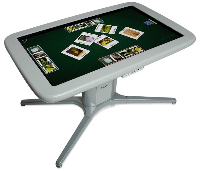Новый интерактивный стол для детей - SMART Table 442i.