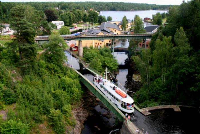 Акведук Hаverud считается одним из самых трудно возводимых водных путей.