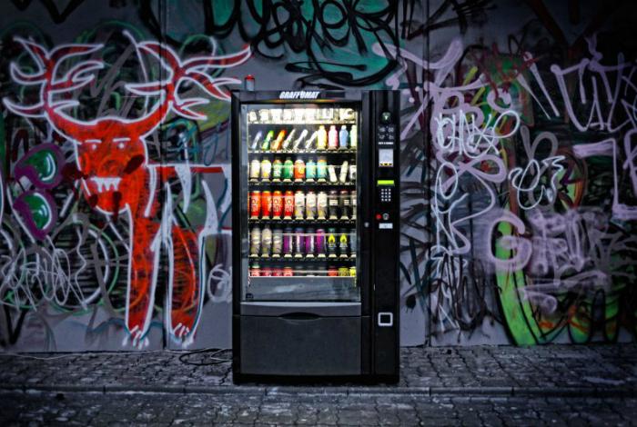 Самые необычные вендинговые автоматы.