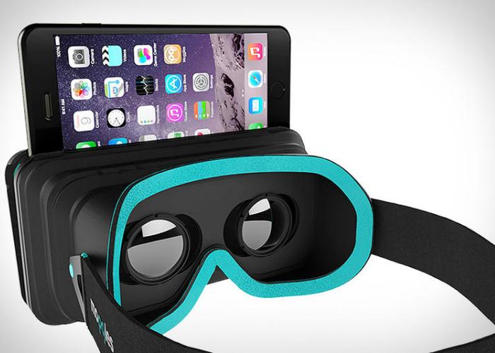 Практичный шлем виртуальной реальности, который имеет совместимость только с Iphone.