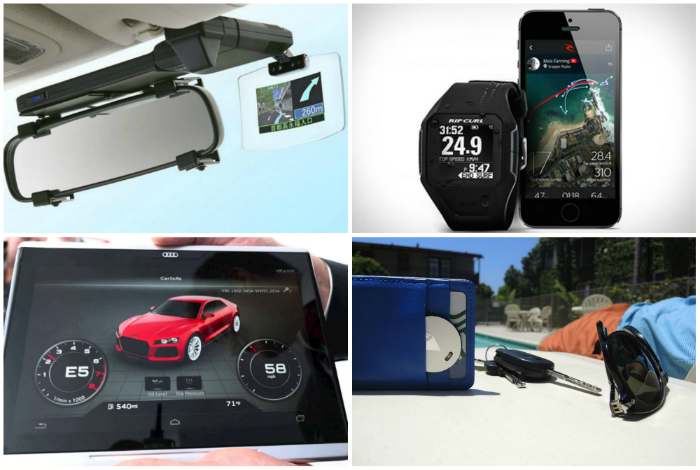 Уникальные в своём роде устройства с GPS навигатором.