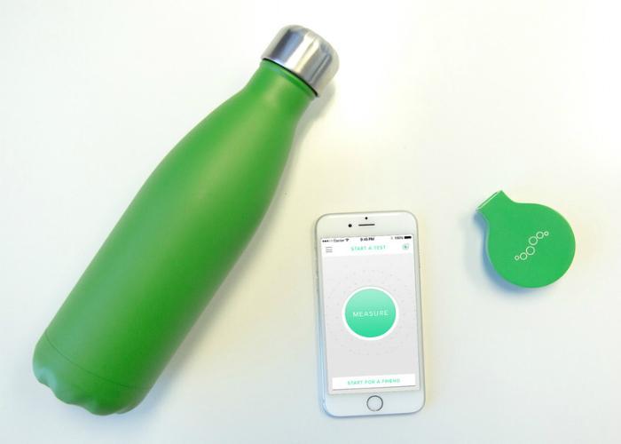 Компактный гаджет для проверки свежести дыхания под названием - Mint.